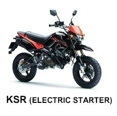 Kawasaki KSR (ELECTRIC STARTER)
